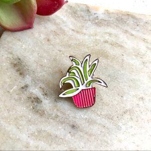 2 for $16 Potted Plant Brooch Pin Kawaii Pink Gift
